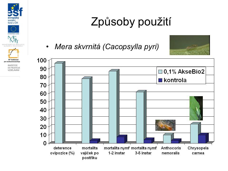 Mera skvrnitá (Cacopsylla pyri)