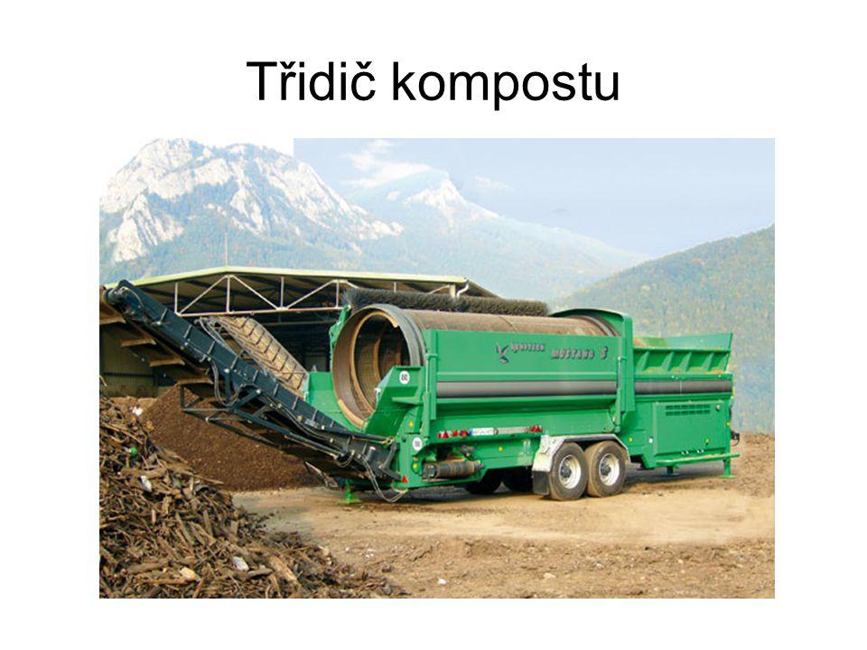 Třidič kompostu