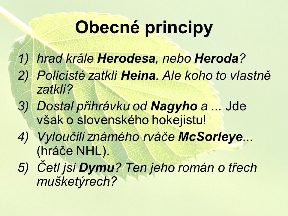 Obecné principy hrad krále Herodesa, nebo Heroda