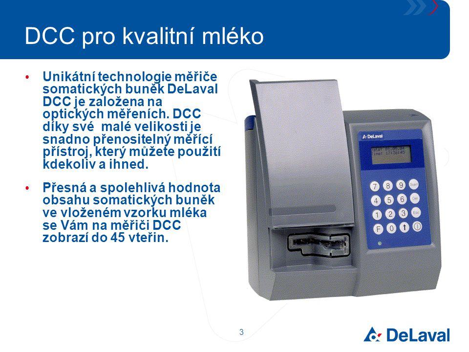 DCC pro kvalitní mléko