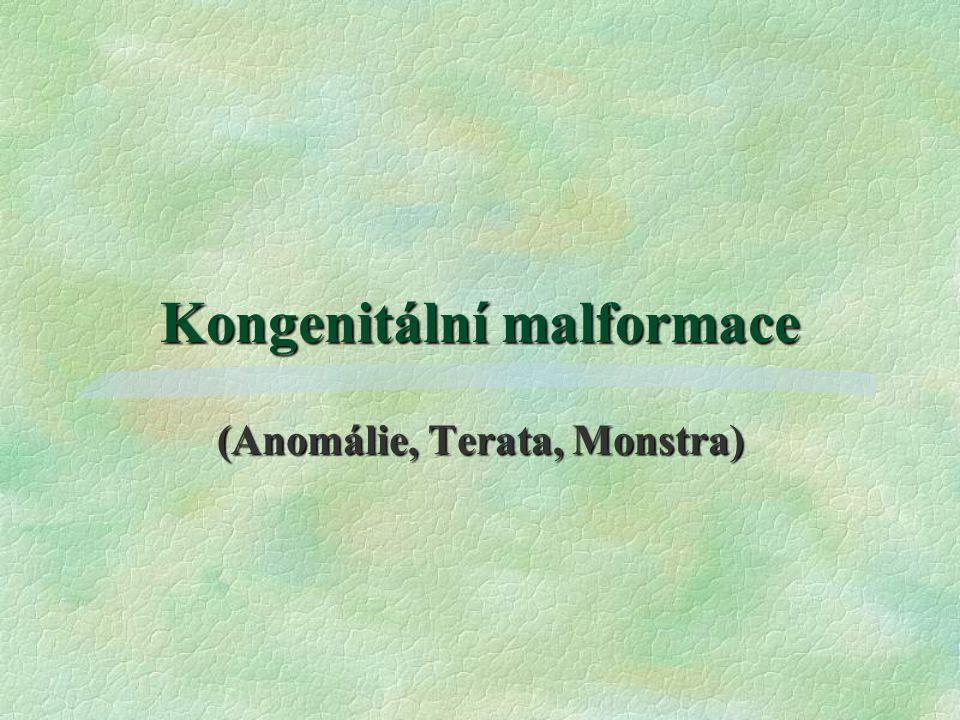 Kongenitální malformace