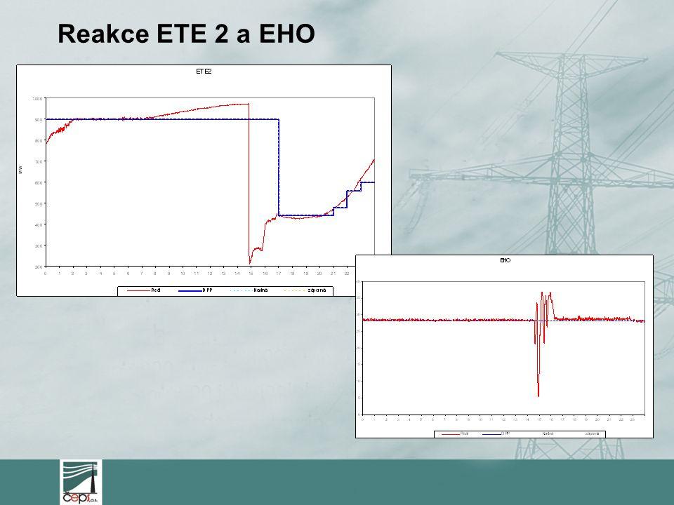 Reakce ETE 2 a EHO