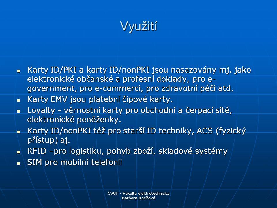 ČVUT - Fakulta elektrotechnická Barbora Kacířová