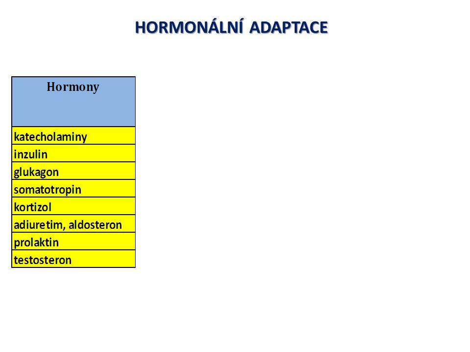 HORMONÁLNÍ ADAPTACE