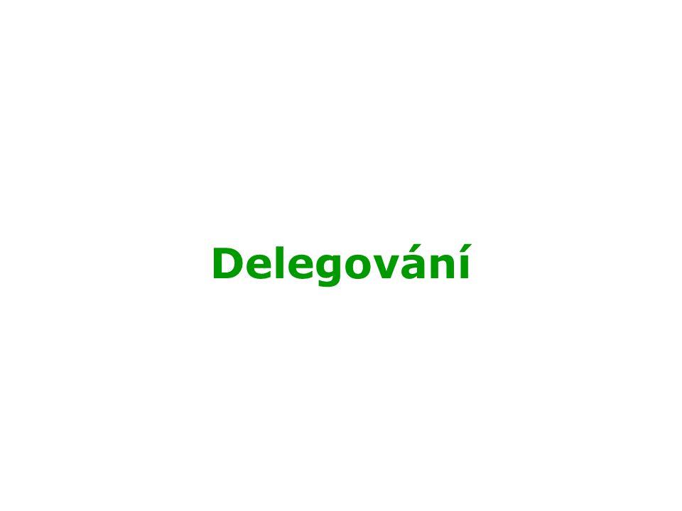Delegování