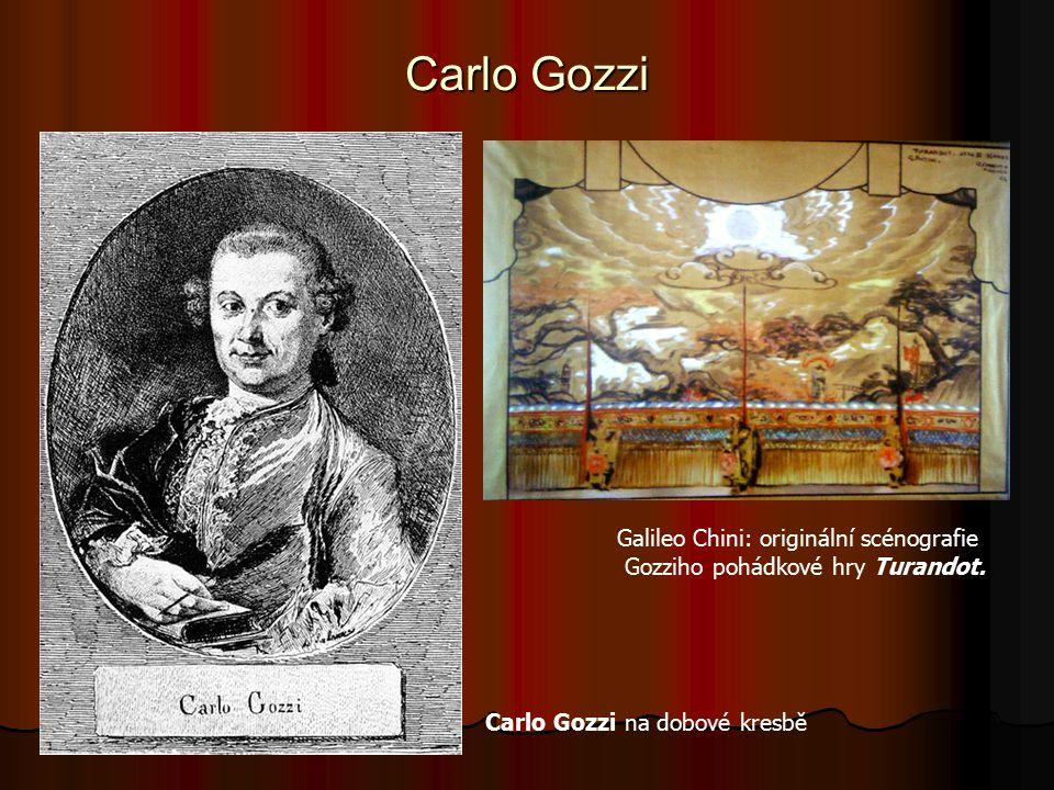 Carlo Gozzi Galileo Chini: originální scénografie