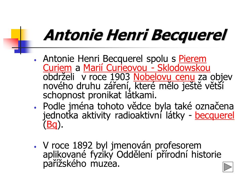 Antonie Henri Becquerel