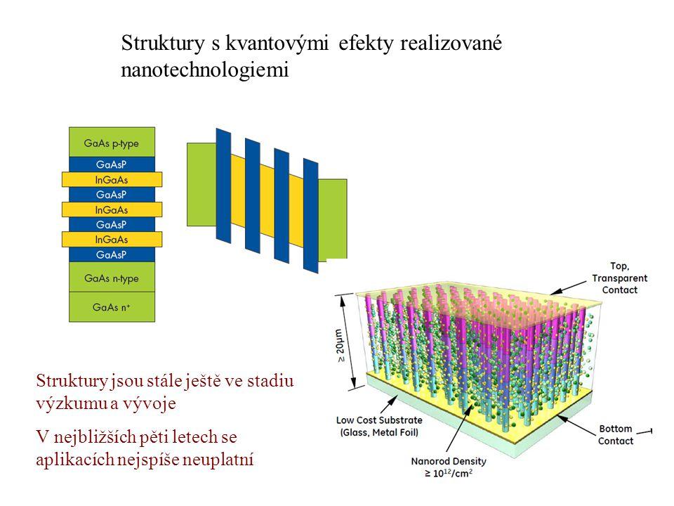 Struktury s kvantovými efekty realizované nanotechnologiemi