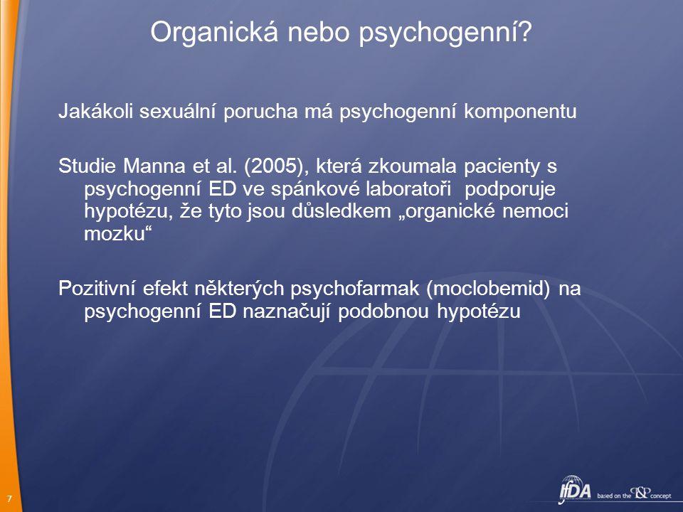 Organická nebo psychogenní