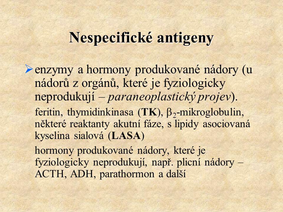 Nespecifické antigeny