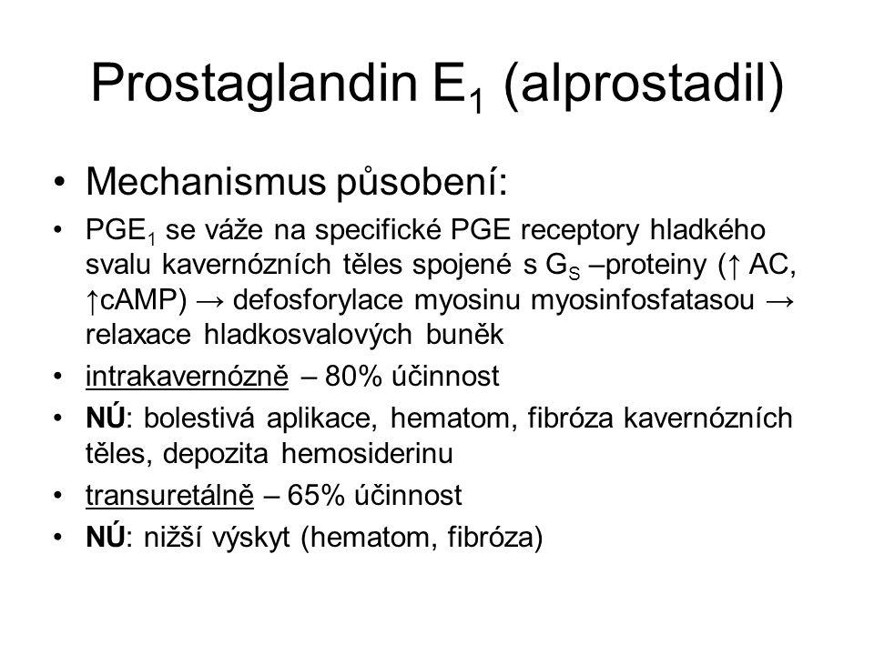 Prostaglandin E1 (alprostadil)