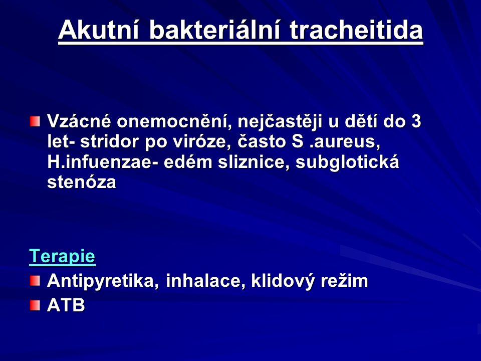 Akutní bakteriální tracheitida