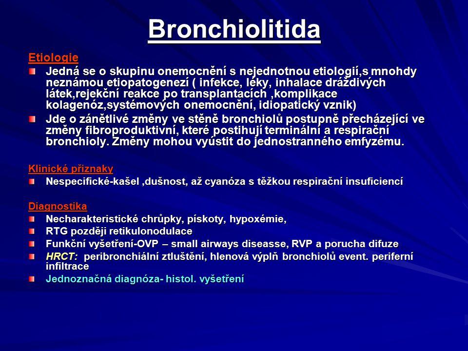Bronchiolitida Etiologie
