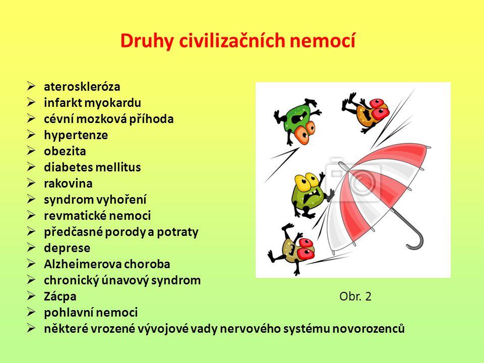 Druhy civilizačních nemocí