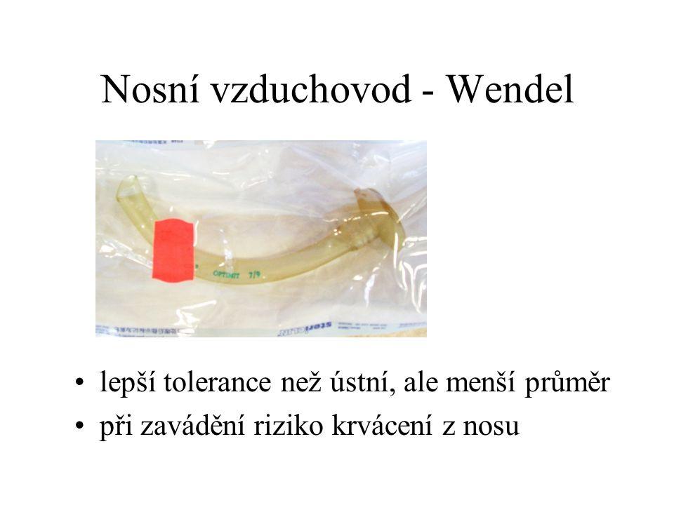 Nosní vzduchovod - Wendel