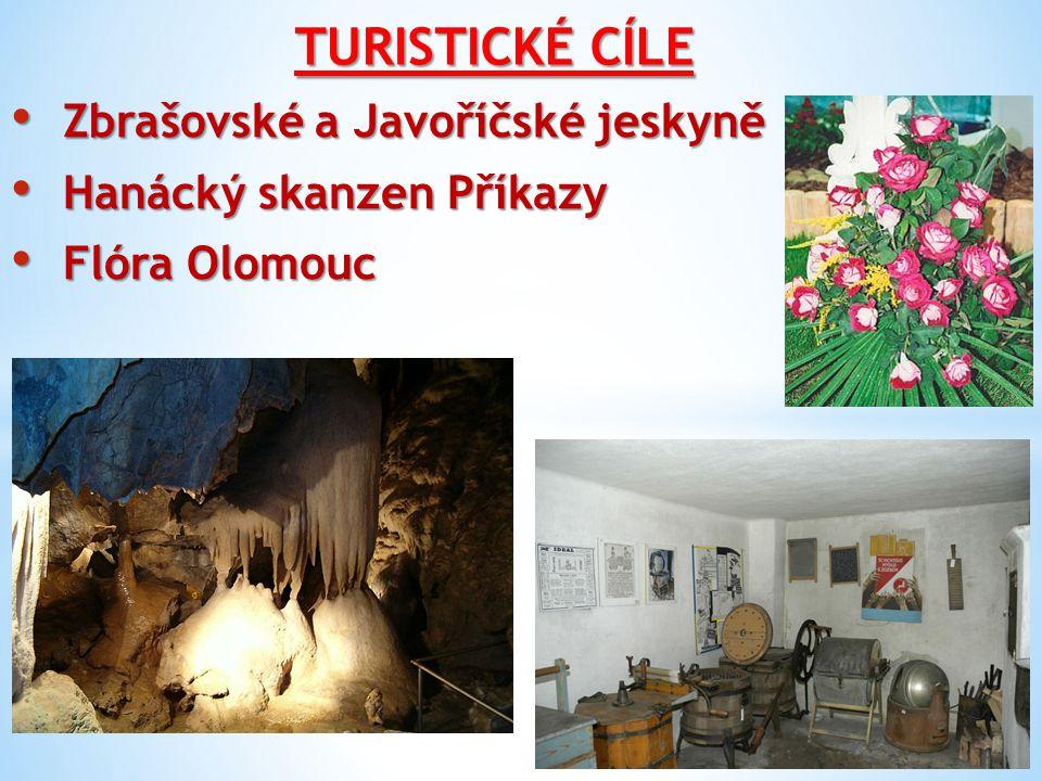 TURISTICKÉ CÍLE Zbrašovské a Javoříčské jeskyně
