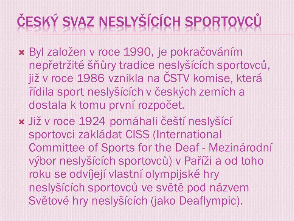 Český svaz neslyšících sportovců