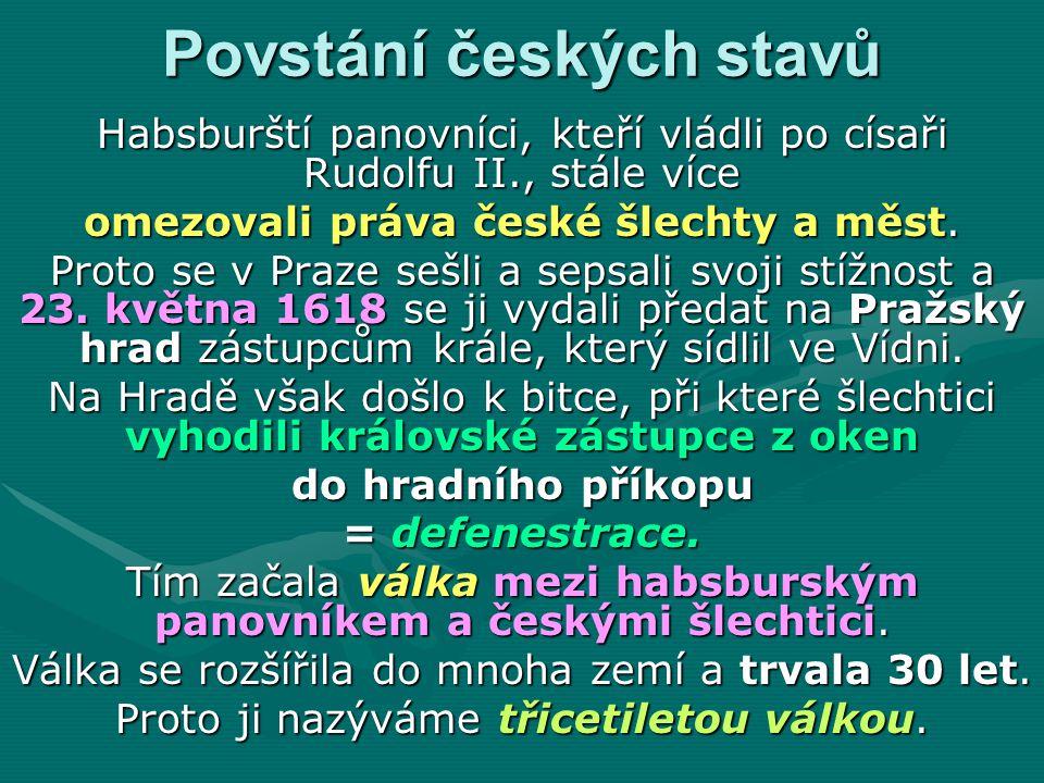 Povstání českých stavů