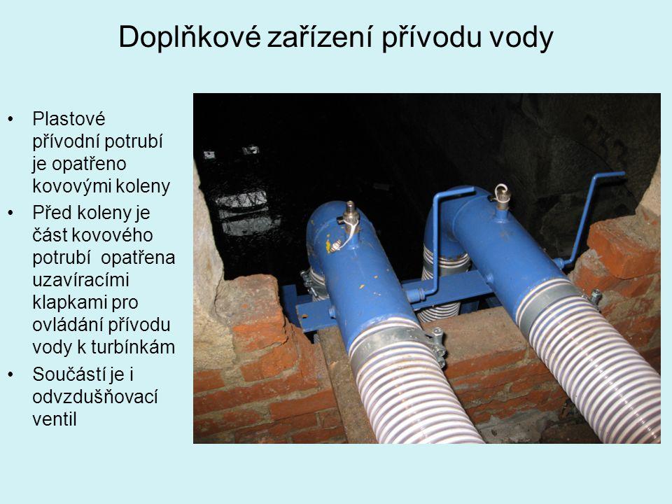 Doplňkové zařízení přívodu vody