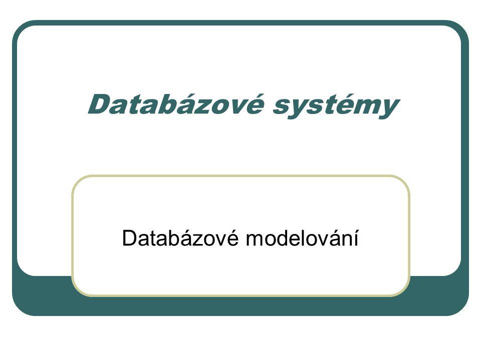 Databázové modelování