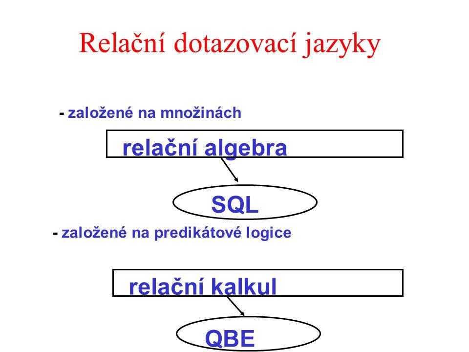 Relační dotazovací jazyky