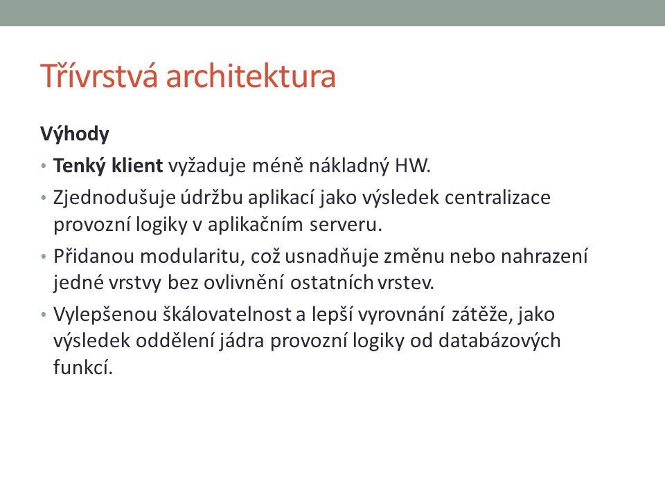 Třívrstvá architektura