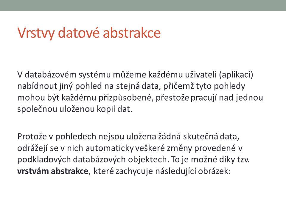 Vrstvy datové abstrakce