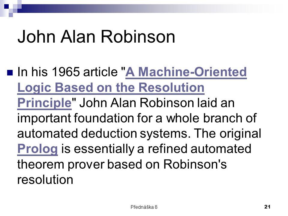 John Alan Robinson