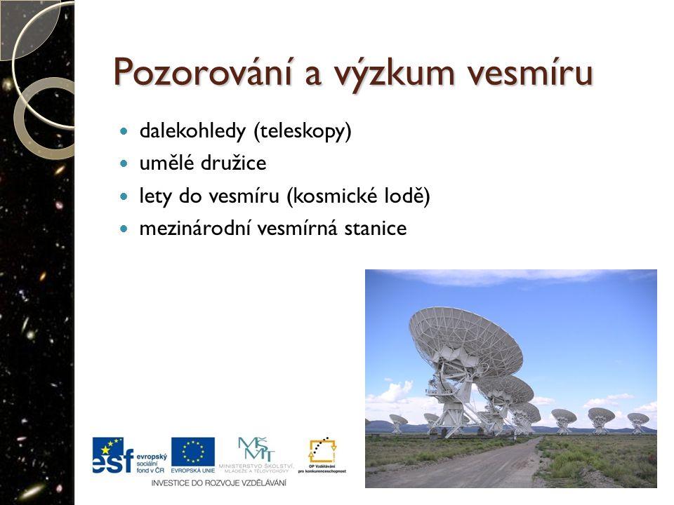 Pozorování a výzkum vesmíru
