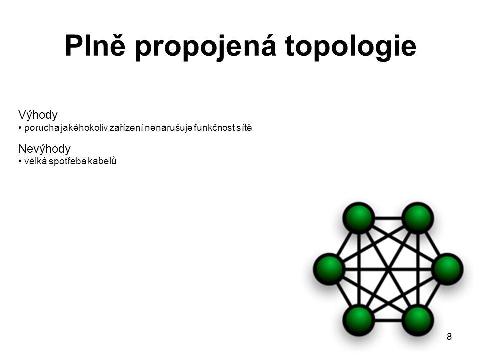 Plně propojená topologie