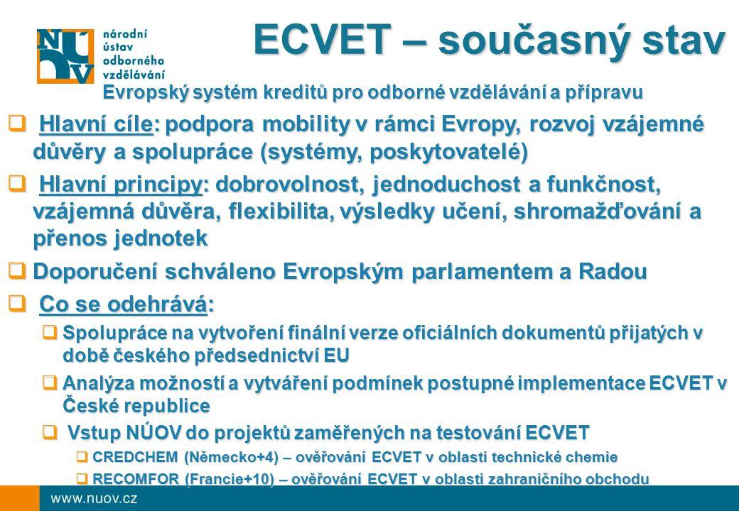 Evropský systém kreditů pro odborné vzdělávání a přípravu