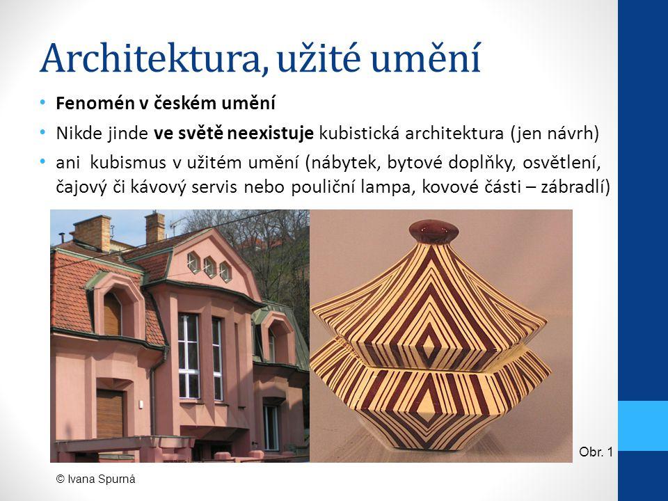 Architektura, užité umění