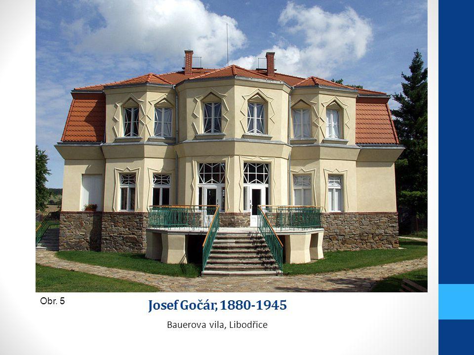 Bauerova vila, Libodřice