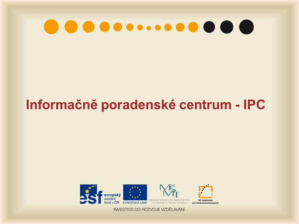 Informačně poradenské centrum - IPC