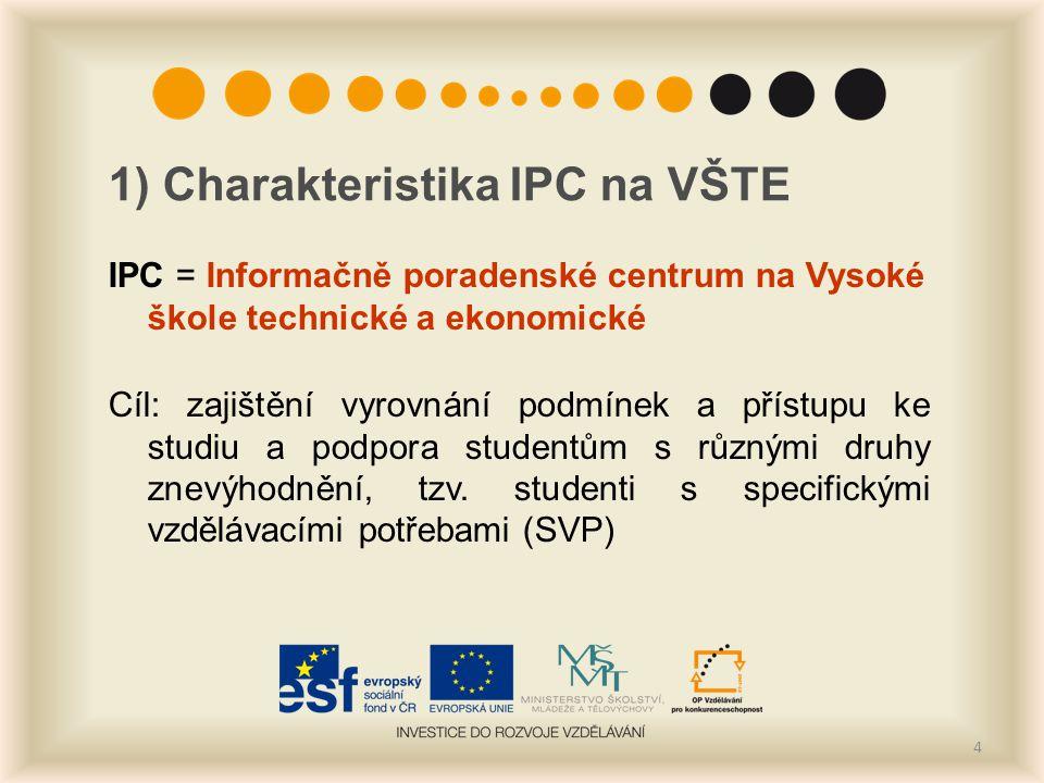 1) Charakteristika IPC na VŠTE