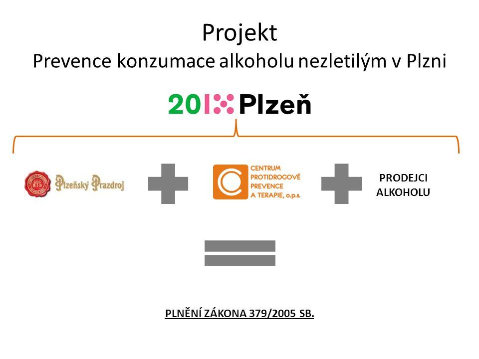 Projekt Prevence konzumace alkoholu nezletilým v Plzni