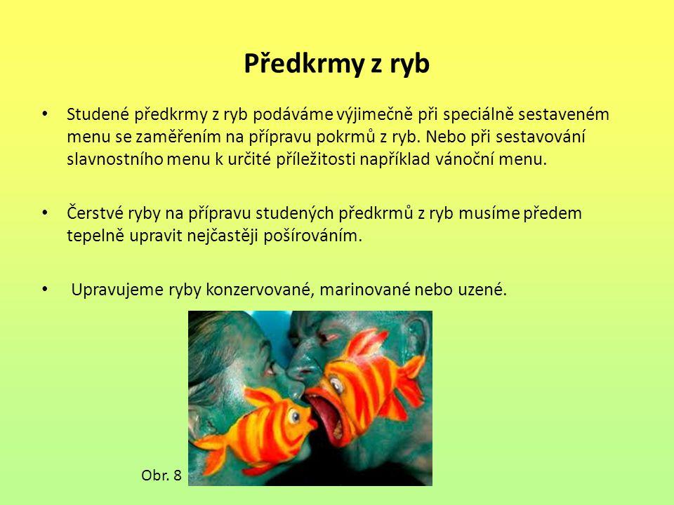 Předkrmy z ryb
