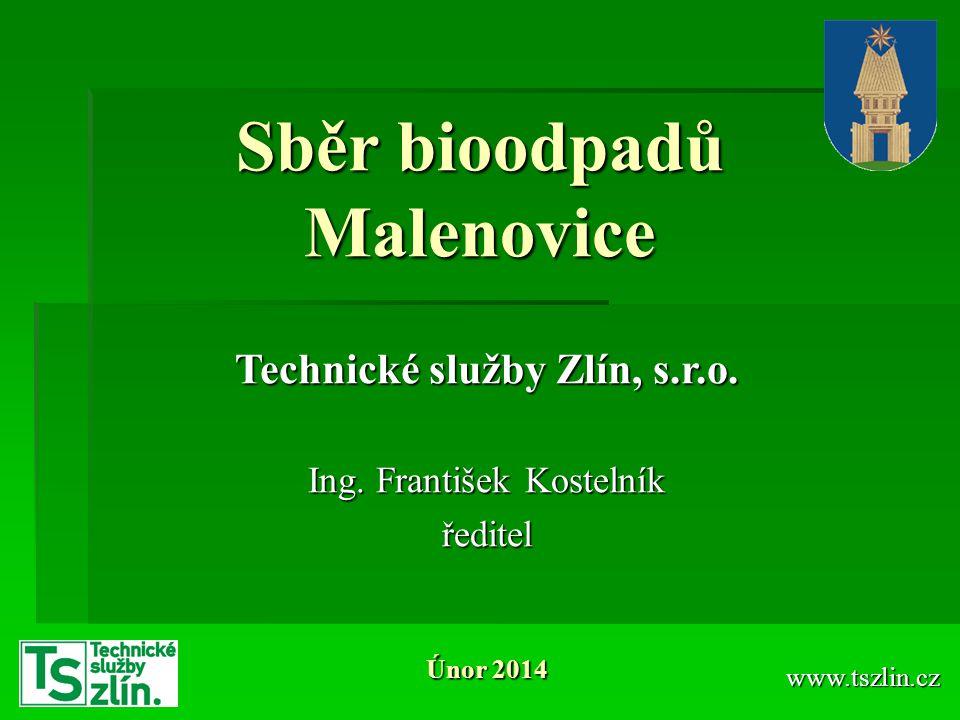 Sběr bioodpadů Malenovice