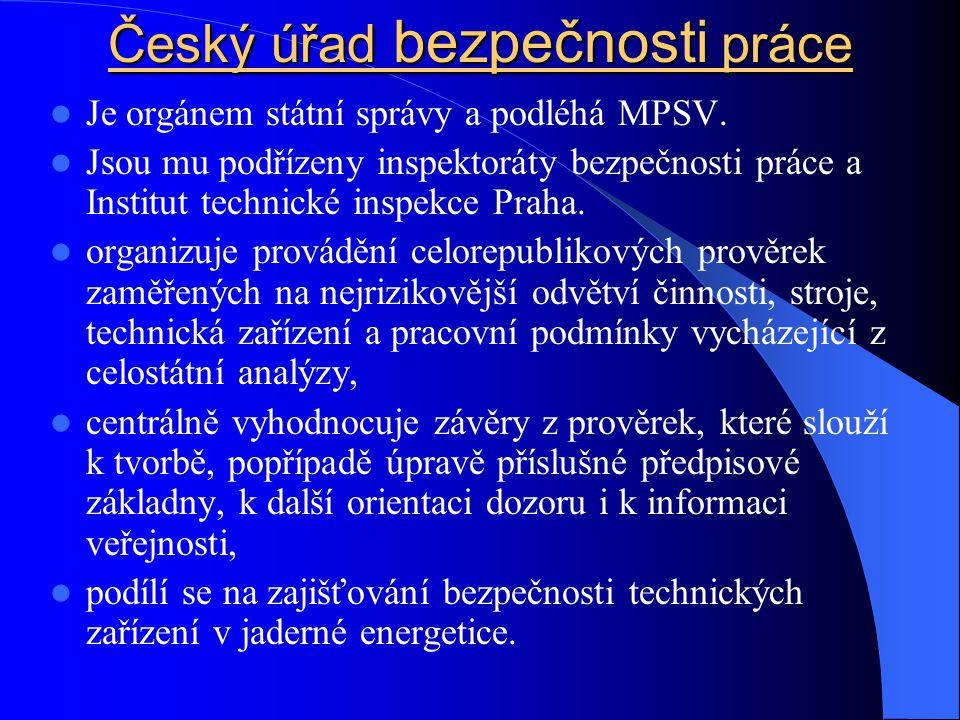 Český úřad bezpečnosti práce