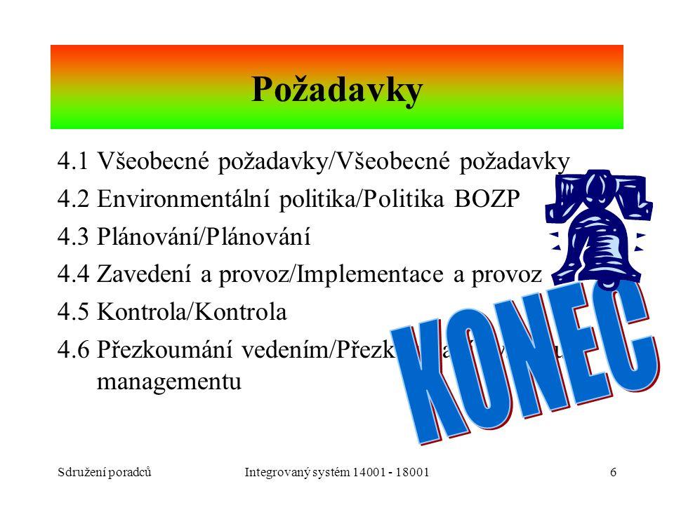 Požadavky KONEC 4.1 Všeobecné požadavky/Všeobecné požadavky