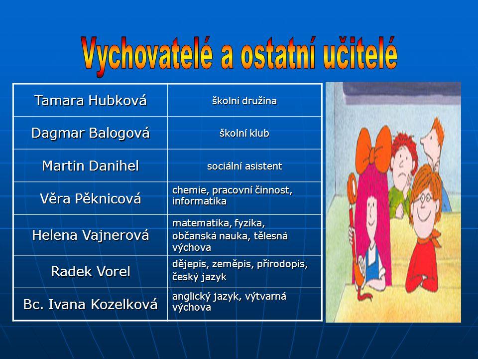 Vychovatelé a ostatní učitelé