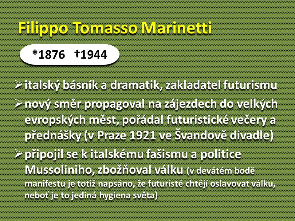Filippo Tomasso Marinetti