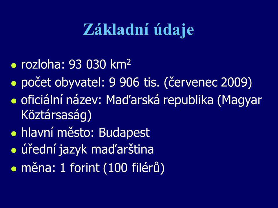 Základní údaje rozloha: 93 030 km2