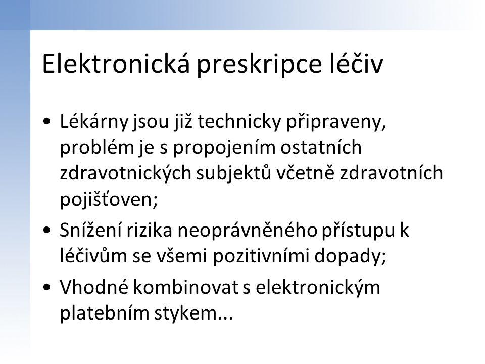 Elektronická preskripce léčiv