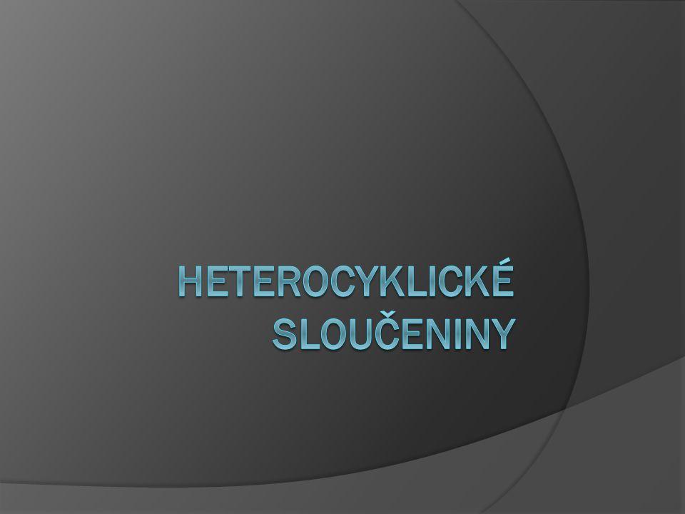 Heterocyklické sloučeniny