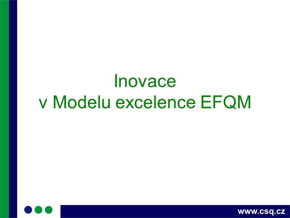 Inovace v Modelu excelence EFQM