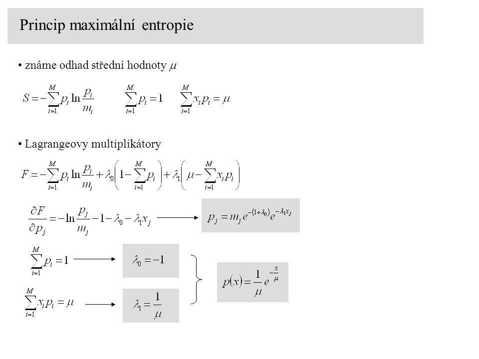 Princip maximální entropie