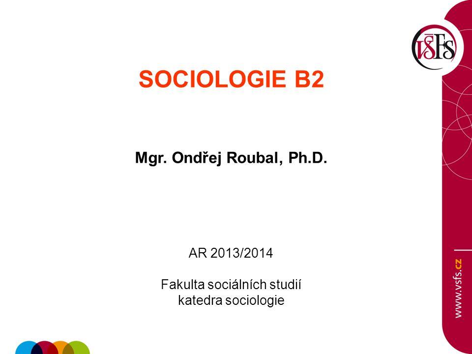 Fakulta sociálních studií