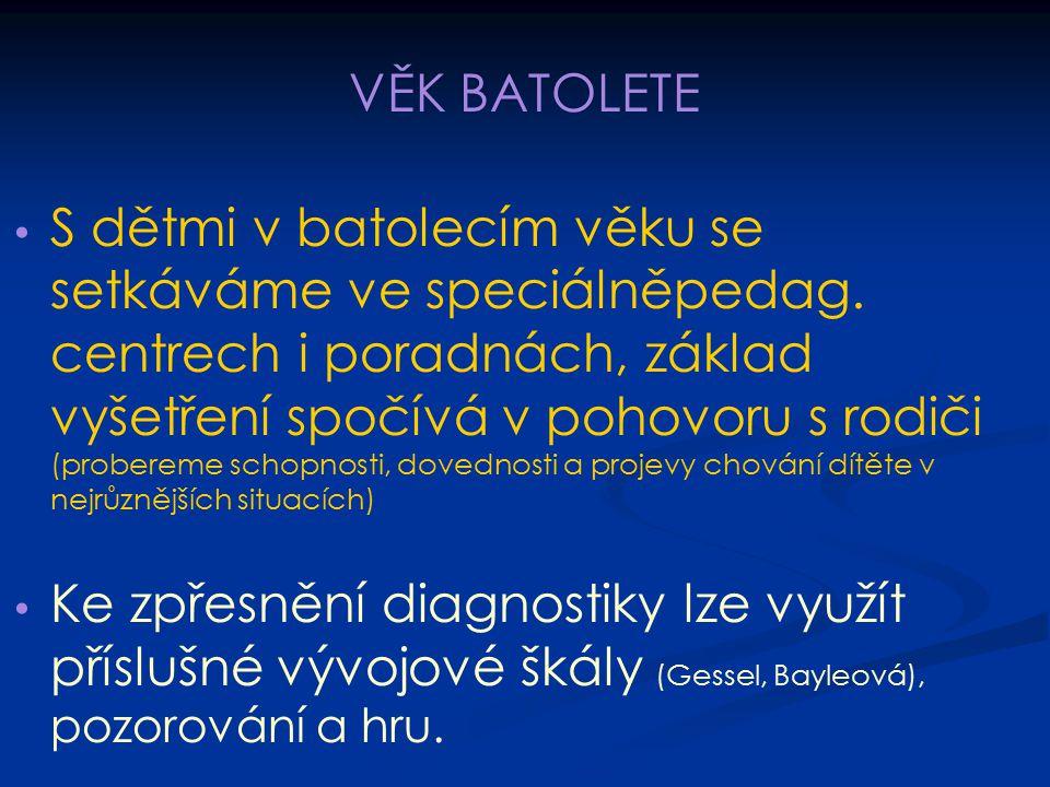 VĚK BATOLETE
