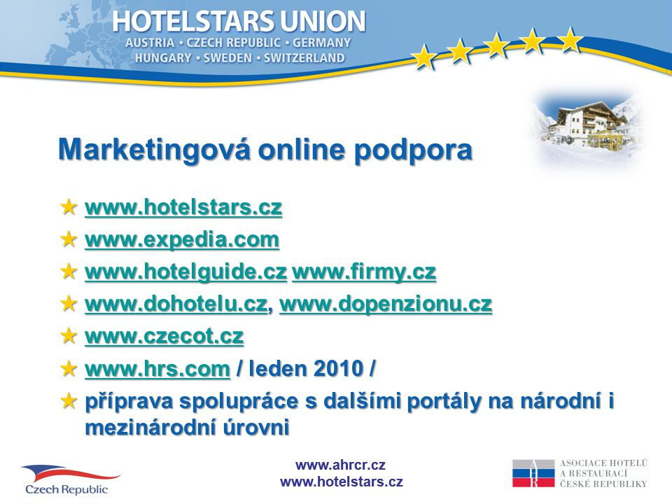 Marketingová online podpora